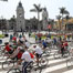 Bike ride held to mark 480th anniv. of founding of Lima