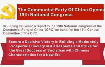 Infographics: Xi's report to 19th CPC National Congress