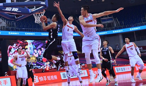 Guangdong takes control in CBA finals