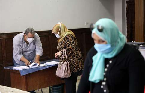 Egyptians begin voting for revived upper house of parliament
