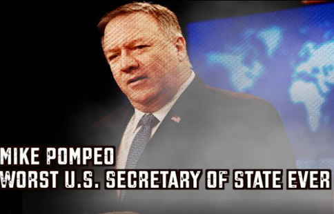 "Pompeo's dirty ""clean network"""