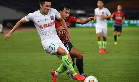 CSL Roundup: Shijiazhuang takes first win, Chongqing draws with Qingdao