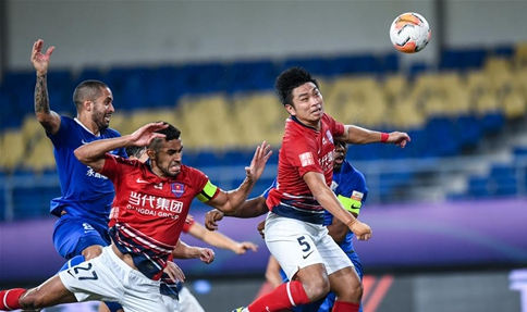 Chongqing secures five straight wins in Chinese Super League