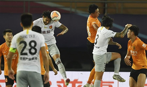 Hebei China Fortune downs Wuhan Zall in Chinese Super League
