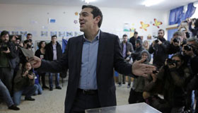Anti-bailout Radical Leftists win Greek election