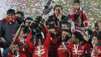 Copa America: Chile beats Argentina 4-1 to win title
