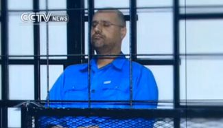 Tripoli court sentences Gaddafi's son to death