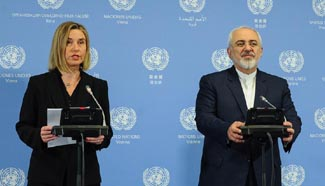EU, Iran announce implementation of nuclear deal, sanctions lifted