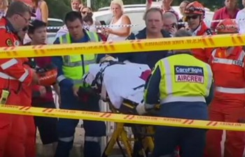 At least 16 injured after train hits barrier at Sydney railway station