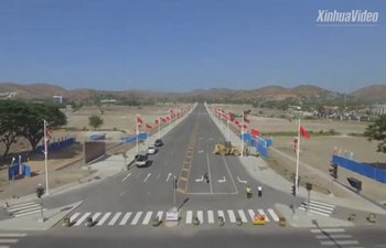China-assisted Independence Boulevard launched in Papua New Guinea
